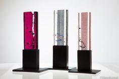 Art glass sculptures . Ana María Nava