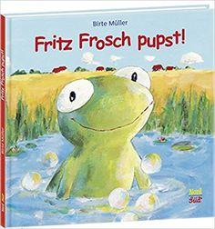 Fritz Frosch pupst!: Amazon.de: Birte Müller: Bücher Little People, Little Girls, Comic Pictures, Kids Reading, Stories For Kids, Book Gifts, Kids And Parenting, Childrens Books, Teddy Bear