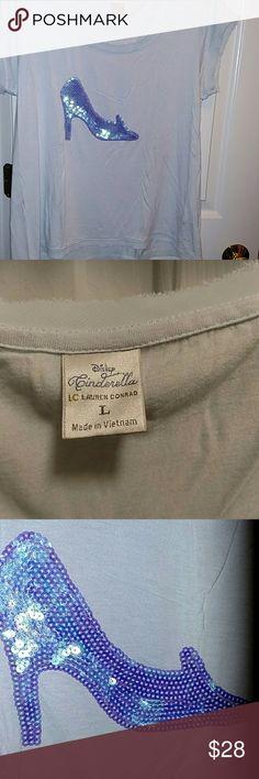 Lauren Conrad T shirt Cinderella tee-shirt. Excellent. Lauren conrad  Tops Tees - Short Sleeve