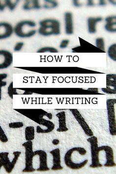 How to Stay Focused While Writing Taylor corona Paragraph Writing, Writing Words, Writing Quotes, Fiction Writing, Writing Advice, Essay Writing, Writing A Book, Writing Help, Writing Workshop