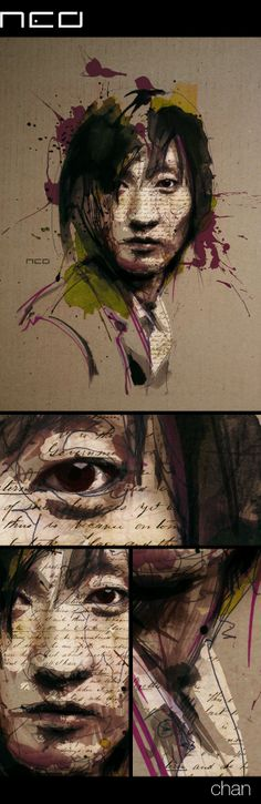 Chan by Florian NICOLLE, via Behance