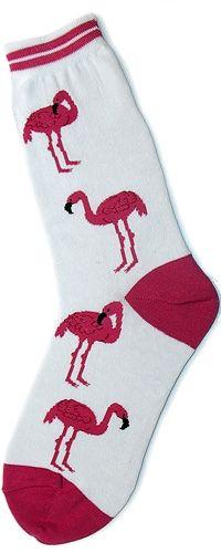 Flamingos Womens Socks