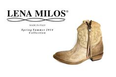 LENA MILOS must have for ss14 #lenamilos #vintage #boots #springsummer #new #original #grey #leather and #phyton #tex #girls #love #swag #beautiful