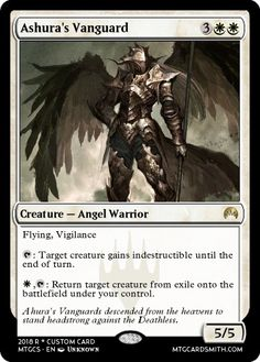 A Magic: The Gathering Custom Card Generator where MTG players can create cards, planeswalkers, and tokens online. Satisfying Pictures, Mtg Art, Angel Warrior, Cool Deck, Nerd Art, Magic The Gathering Cards, Cyberpunk 2077, Alternative Art, Magic Cards