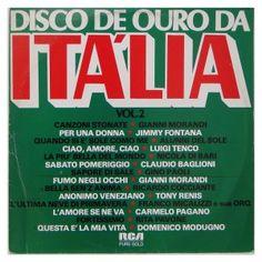 #Disco de #Ouro da #Itália – Vol. 2 1  - #vinil #vinilrecords #temas