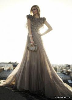 Haute Couture ~ love this colour