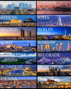227 vind-ik-leuks, 21 reacties - 🇪🇺 Beauty from Europa 🇪🇺 (@beauty_from_europa) op Instagram: 'To which of these European capitals have you been? #paris #london #athens #sofia #madrid #berlin…'