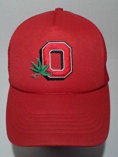 Vintage Ohio State Buckeyes Mesh Trucker Snapback Hat College Supreme #Supreme #OhioStateBuckeyes