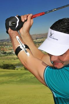 The Swingclick golf swing training aid is aimed at improving your golf swing tempo, rhythm, timing and consistency