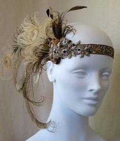 feather headband hair dues | Season 3 Decade Dance: The Roaring Twenties Fashion, Slang & Culture