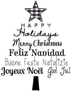 Happy Holidays * Merry Christmas *