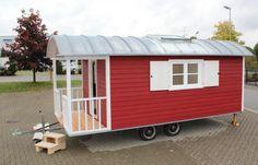 Galerie von verschiedenen Schäferwagen als Zirkuswagen oder Wohnwagen aus unserem Schäferwagenbau