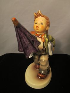 Hummel Figurine Goebel Is it Raining  420 by MyRedFlamingo on Etsy, $55.00