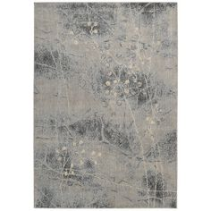 Found it at AllModern - Somerset Silver & Blue Area Rug