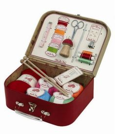 Creative Sewing Suitcase