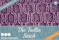 Cable & Twist Stitches - eKnitting Stitches.com