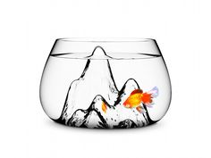 Fishscape Fish Bowl This is really cute