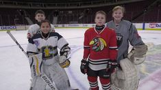 Local youth players competed in the Beko Home Appliances Challenge for the chance to represent the Blackhawks at the 2018 All-Star Game.