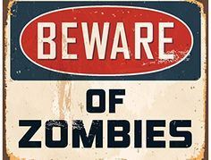 JP London PMUR2456 uStrip Peel and Stick Removable Wall Decal Sticker Mural Beware Zombies Keep Out Sign Walking Dead 4 x 3Feet -- Read more  at the image link.Note:It is affiliate link to Amazon.