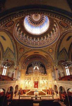 HUNGARY, Szeged. Great Synagogue