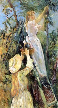 The Cherry Tree Berthe Morisot 1891