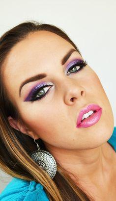 green eyes smoky makeup