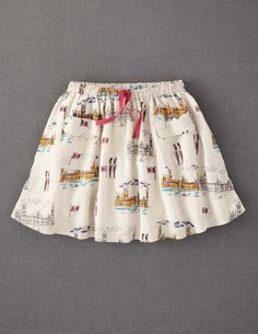 Terribly obsessed with this Mini Boden skirt with Westminster printed all over it. And it's on sale! Who cares if it's for kids I'm getting it!