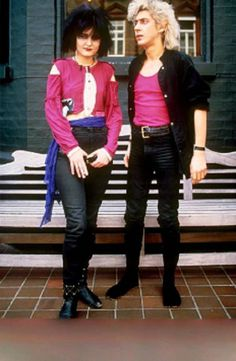 Siouxsie and Budgie