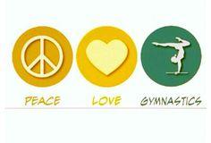 Peace Love Gymnastics :-)