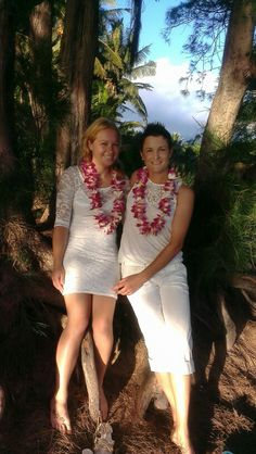 Caroline & Laurie got married today december 11th they came all the way from england
