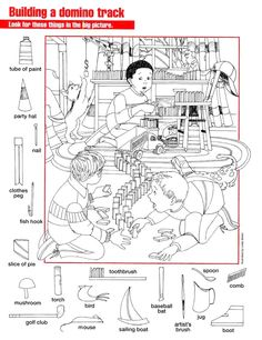 What's Wrong With This Picture? Find-and-Circle Game: First Day of School by Scholastic Colouring Pages, Coloring Books, Highlights Hidden Pictures, Hidden Pictures Printables, Hidden Picture Puzzles, Hidden Images, Hidden Pics, Circle Game, Hidden Objects
