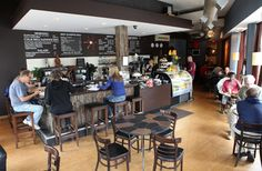 one of our favoite coffee shops just a few blocks from us