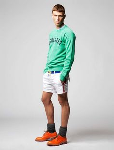 i like the shirt. alot. and the shoes...but those shorts..... maybe if they were longer!!