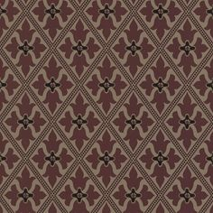 A stunning period wallpaper design in muted crimson tones from Little Greene's London IV Wallpaper Collection. Available at Go Wallpaper UK. Wallpaper Uk, Designer Wallpaper, Little Greene, Bohemian Rug, London, Rugs, Period, Home Decor, Collection