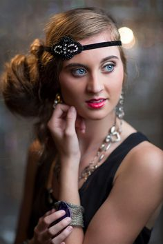 great gatsby style hair accessories 1000 images about 1920 s on finger 7346