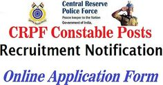 CRPF Recruitment 2017 Apply Online, 661 Medical Office (MO) Vacancy Application @crpf.nic.in, Readers check CRPF Vacancy 2017 Details,