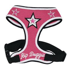 Hip Doggie Pink Super Star Mesh Harness Vest Medium -- Learn more by visiting the image link.