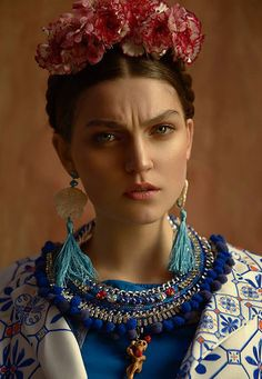 Here she comes again: a gripping fashion editorial has been inspired once more by Mexican legendary painter and proto-feminist Frida Ka...