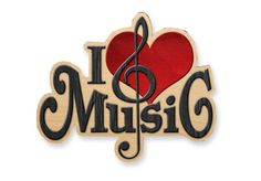 MAGNET I Love Music - 2¾""