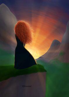 Merida deviantAR | Stay Brave Merida by Naariel