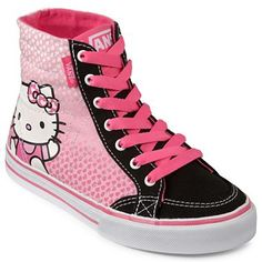 29cafdb18c3 Vans® Hello Kitty Corrie High-Top Sneakers - jcpenney Pajama Top