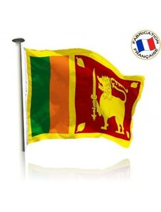 Drapeau Sri Lanka Made In France by Manufêtes