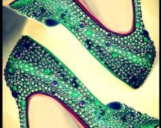 green heels wedding - Google Search