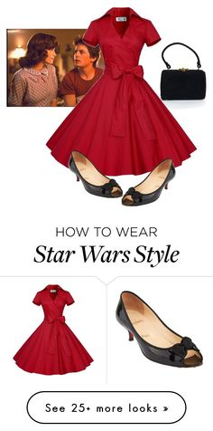 """Untitled #51"" by mjsk on Polyvore featuring Christian Louboutin"