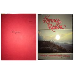 Bob Jones: Rhyme & Reason limited edition #708 of 1000. Purchased pre-signed via eBay.