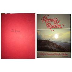 Bob Jones: Rhyme & Reason limited edition #708 of 1000. Purchased pre-signed via eBay.