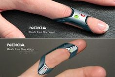 Techvedic | Tech reviews | Products: Nokia FIT: Ring-shape Wearable Phone Concept