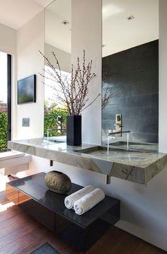 HappyModern.RU | Зеркало в ванную комнату (65 фото): 6 подсказок о том, как определиться с выбором | http://happymodern.ru