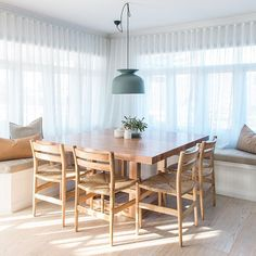 Sunday breakfast in this lovely light filled dining area from our friends Kyal and Kara featuring our Luca Series Cushions. www.eadielifestyle.com.au