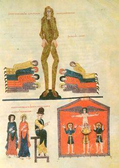 BEATO DE GERONA - La estatua y el horno de Babilonia.
